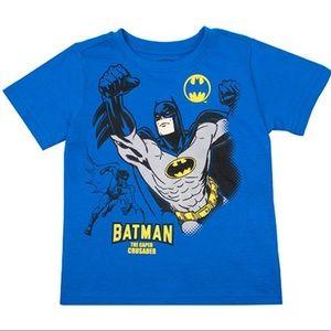 Batman Blue 'Caped Crusader' Tee